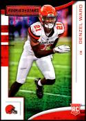 2018 Rookies and Stars Football #141 Denzel Ward RC Rookie Card Cleveland Browns Rookie  Official NFL Trading Card Produced by Panini