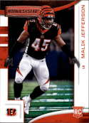 2018 Panini Rookies and Stars #168 Malik Jefferson NM-MT RC Cincinnati Bengals Official NFL Rookie Card