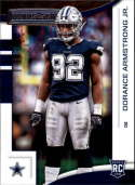 2018 Panini Rookies and Stars #183 Dorance Armstrong Jr. NM-MT RC Dallas Cowboys Official NFL Rookie Card