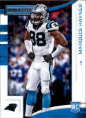2018 Panini Rookies and Stars #191 Marquis Haynes NM-MT RC Carolina Panthers Official NFL Rookie Card
