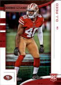2018 Panini Rookies and Stars #195 D.J. Reed NM-MT RC San Francisco 49ers Official NFL Rookie Card