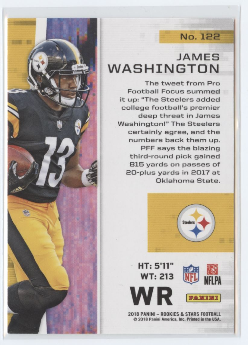 5f2fc892018 2018 Panini Rookies and Stars Gold Football Checklist | Ultimate ...