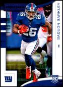 2018 Panini Rookies and Stars Purple #102 Saquon Barkley RC NM-MT New York Giants
