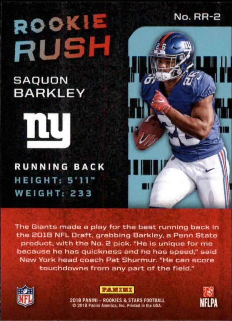 2018 Panini Rookies and Stars NFL Football Insert Singles Pick Your ... ca2be6f132b08