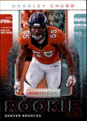2018 Rookies and Stars Rookie Rush #4 Bradley Chubb Denver Broncos  NFL Football Trading Card (made by Panini)