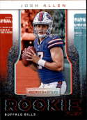 2018 Rookies and Stars Rookie Rush #5 Josh Allen Buffalo Bills  NFL Football Trading Card (made by Panini)