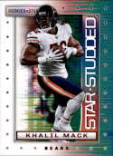 2018 Rookies and Stars Star Studded Football #7 Khalil Mack Chicago Bears  Official NFL Trading Card Produced by Panini