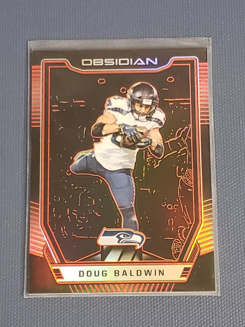 2018 Panini Obsidian Electric Etch Red
