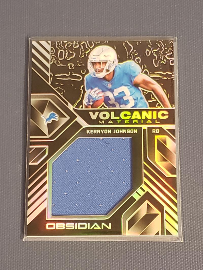 2018 Panini Obsidian Volcanic Material
