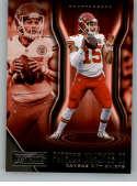 2018 Playbook Football #32 Patrick Mahomes II Kansas City Chiefs  Official NFL Card Produced by Panini