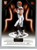 2018 Panini Playbook #128 Baker Mayfield Cleveland Browns Rookie (RC - Rookie Card) NM-MT NFL