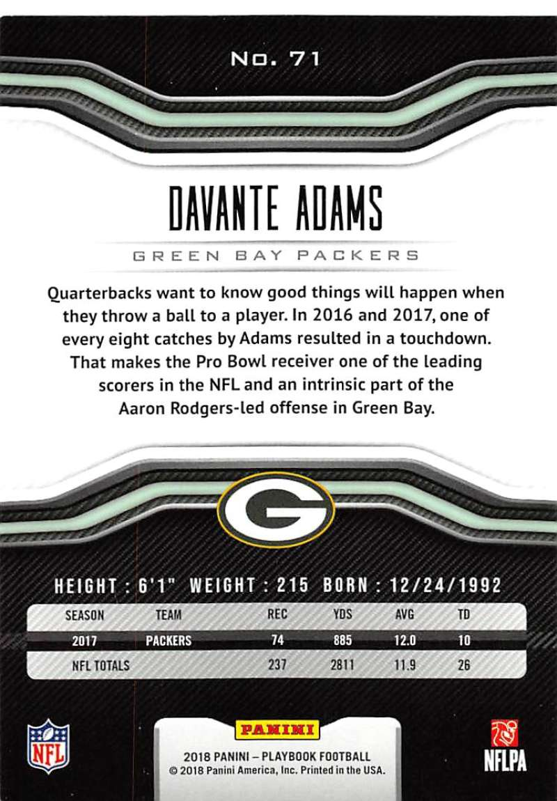 2018-Panini-PLAYBOOK-Football-Inserts-Singles-You-Choose-Pick-Your-Card-Player miniature 35