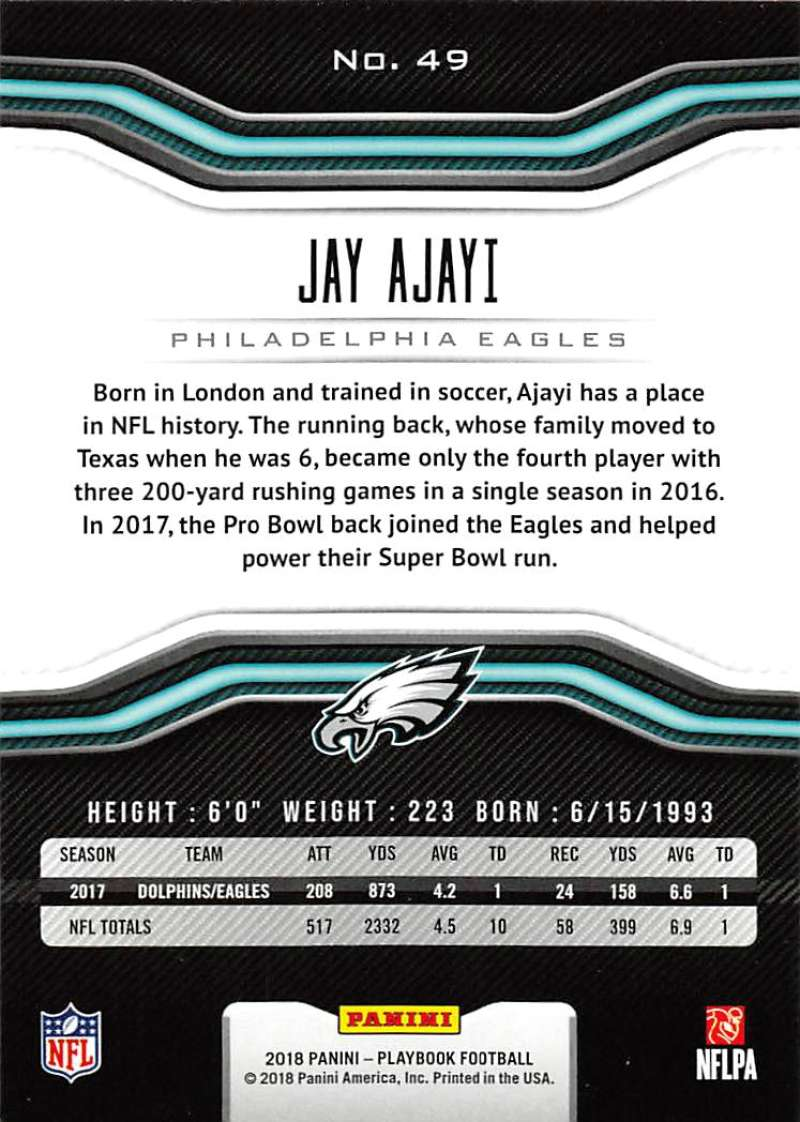 2018-Panini-PLAYBOOK-Football-Inserts-Singles-You-Choose-Pick-Your-Card-Player miniature 7