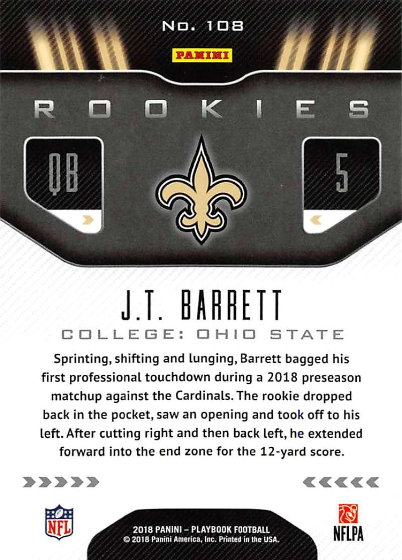 2018-Panini-PLAYBOOK-Football-Inserts-Singles-You-Choose-Pick-Your-Card-Player miniature 13