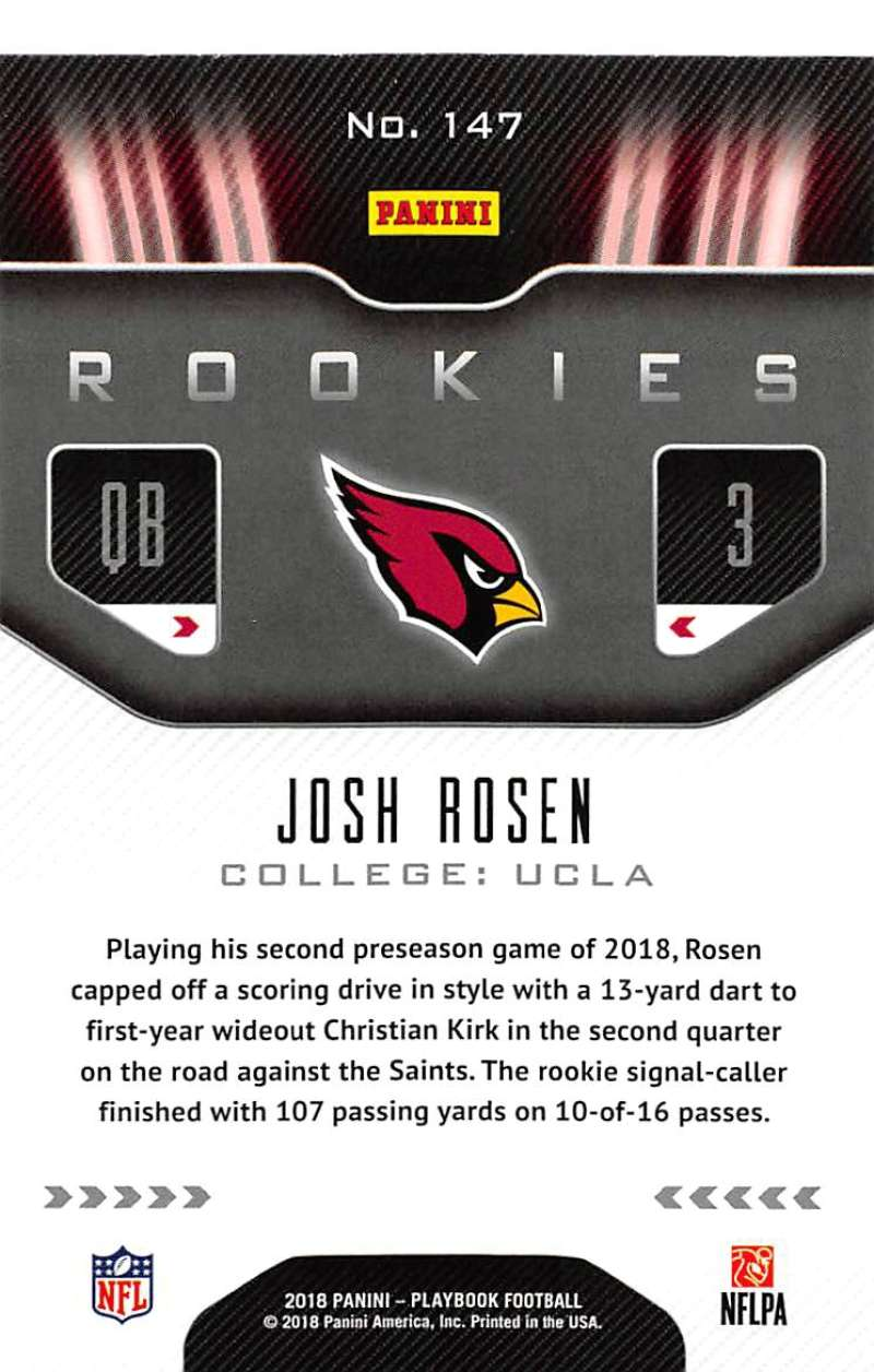 2018-Panini-PLAYBOOK-Football-Inserts-Singles-You-Choose-Pick-Your-Card-Player miniature 17