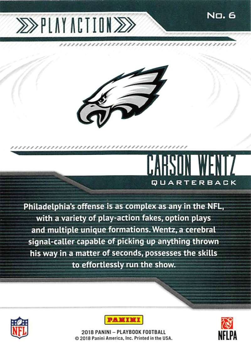 2018-Panini-PLAYBOOK-Football-Inserts-Singles-You-Choose-Pick-Your-Card-Player miniature 163