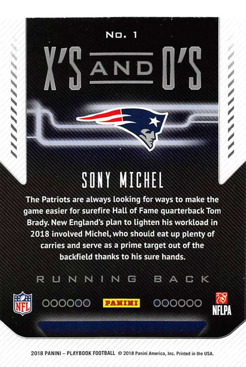 2018-Panini-PLAYBOOK-Football-Inserts-Singles-You-Choose-Pick-Your-Card-Player miniature 43