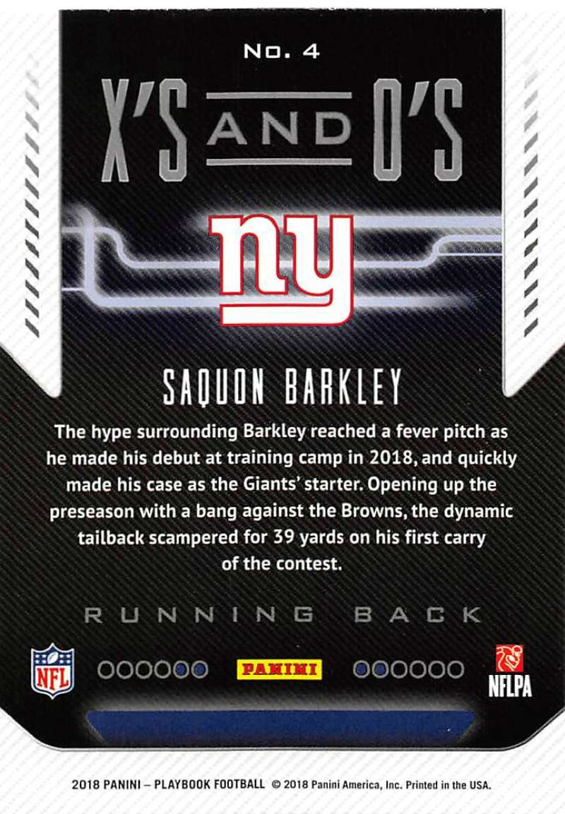 2018-Panini-PLAYBOOK-Football-Inserts-Singles-You-Choose-Pick-Your-Card-Player miniature 45