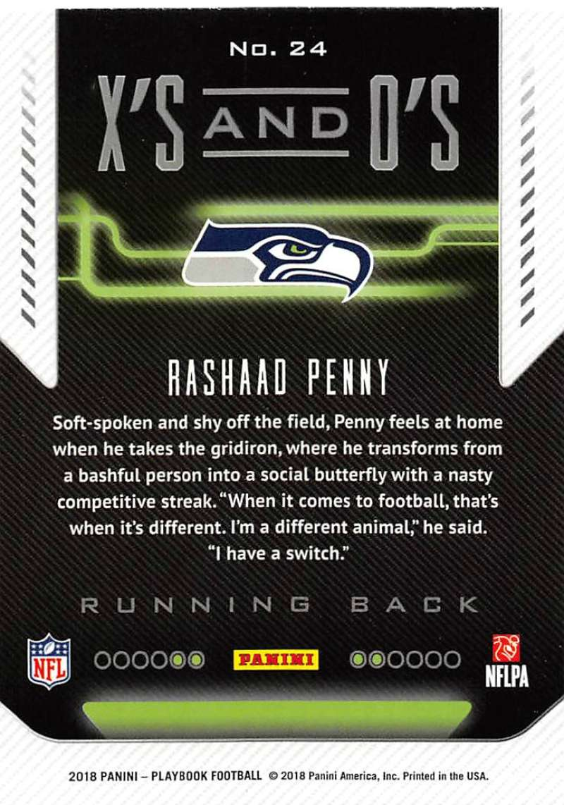 2018-Panini-PLAYBOOK-Football-Inserts-Singles-You-Choose-Pick-Your-Card-Player miniature 53