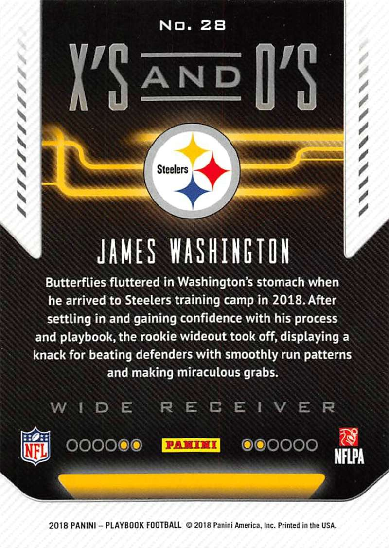 2018-Panini-PLAYBOOK-Football-Inserts-Singles-You-Choose-Pick-Your-Card-Player miniature 69