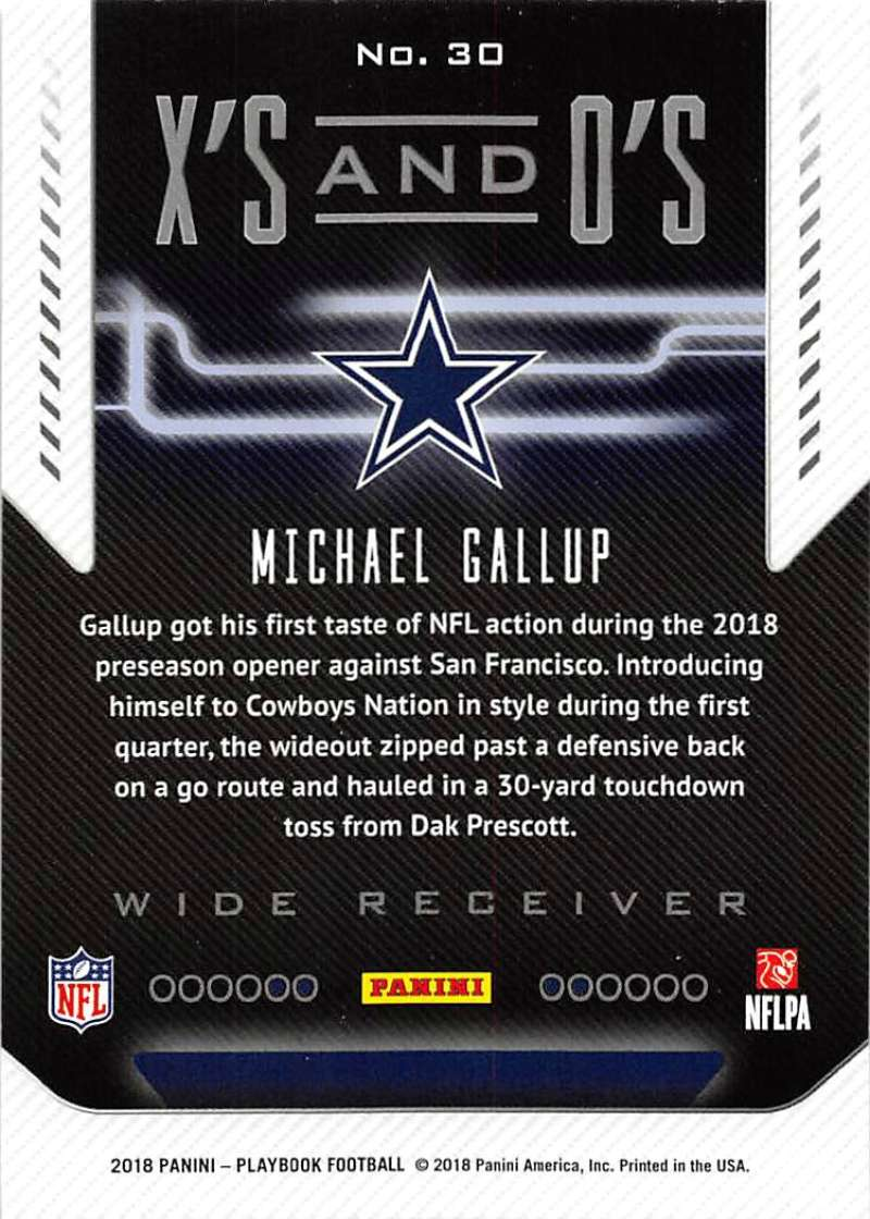 2018-Panini-PLAYBOOK-Football-Inserts-Singles-You-Choose-Pick-Your-Card-Player miniature 55