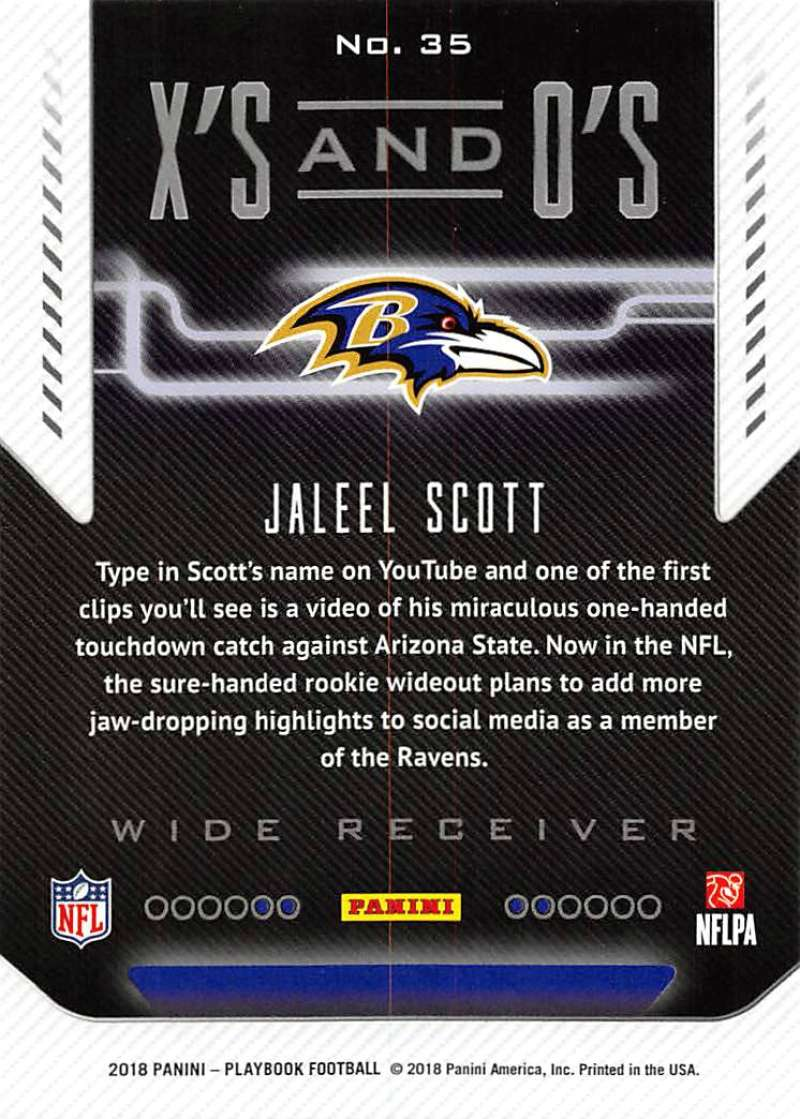 2018-Panini-PLAYBOOK-Football-Inserts-Singles-You-Choose-Pick-Your-Card-Player miniature 81