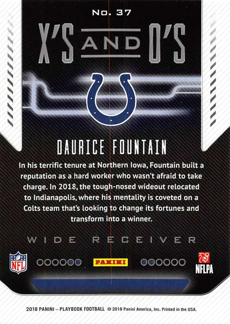 2018-Panini-PLAYBOOK-Football-Inserts-Singles-You-Choose-Pick-Your-Card-Player miniature 57