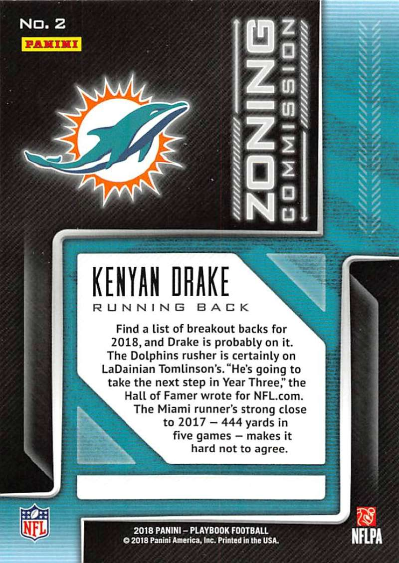 2018-Panini-PLAYBOOK-Football-Inserts-Singles-You-Choose-Pick-Your-Card-Player miniature 107