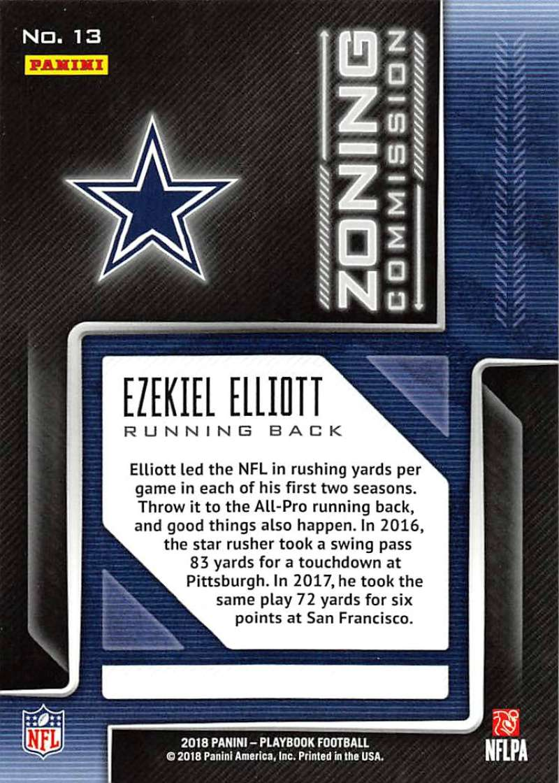 2018-Panini-PLAYBOOK-Football-Inserts-Singles-You-Choose-Pick-Your-Card-Player miniature 129