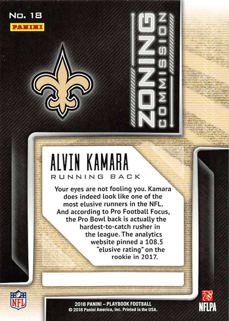 2018-Panini-PLAYBOOK-Football-Inserts-Singles-You-Choose-Pick-Your-Card-Player miniature 139