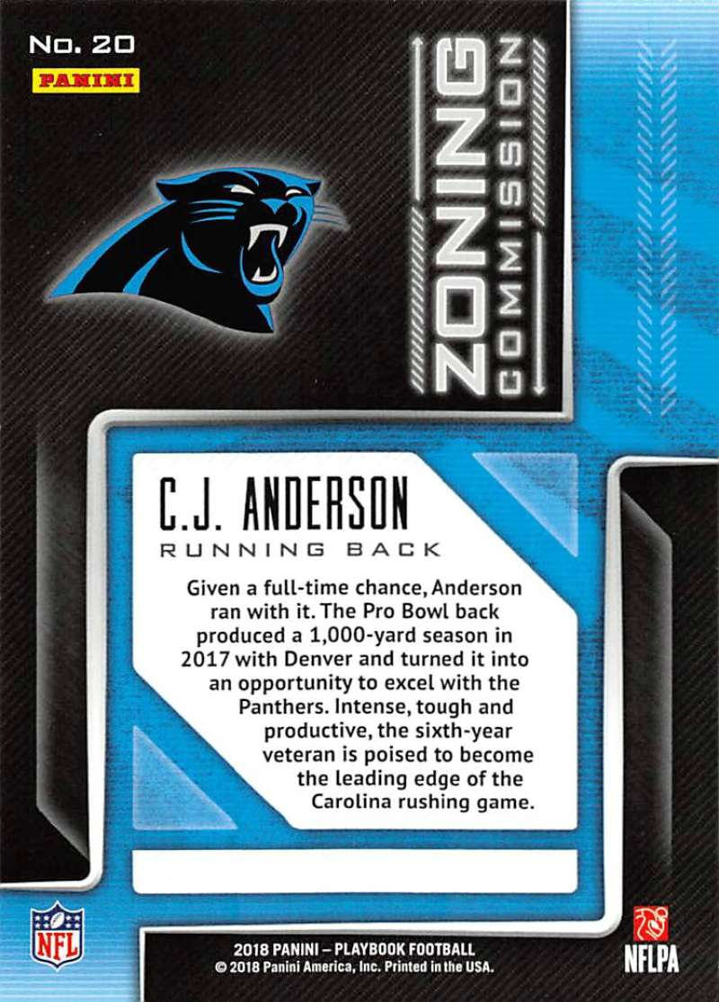 2018-Panini-PLAYBOOK-Football-Inserts-Singles-You-Choose-Pick-Your-Card-Player miniature 143