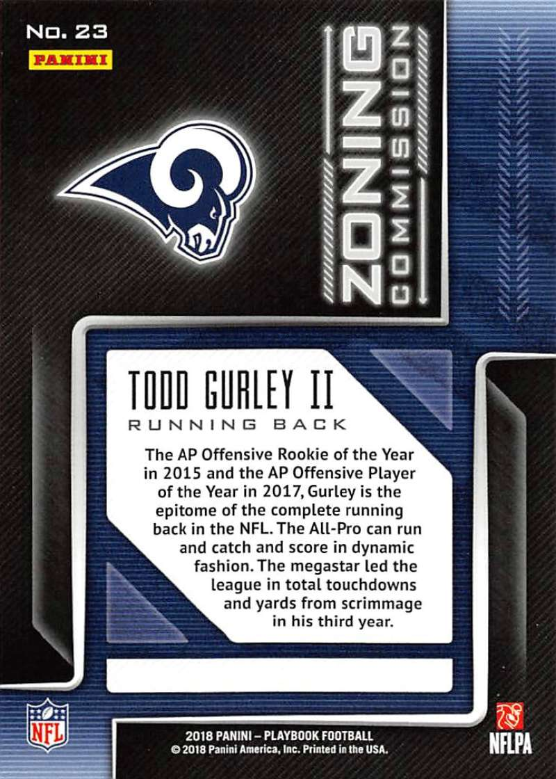 2018-Panini-PLAYBOOK-Football-Inserts-Singles-You-Choose-Pick-Your-Card-Player miniature 149