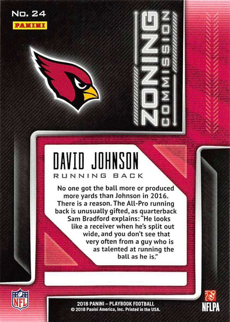 2018-Panini-PLAYBOOK-Football-Inserts-Singles-You-Choose-Pick-Your-Card-Player miniature 151