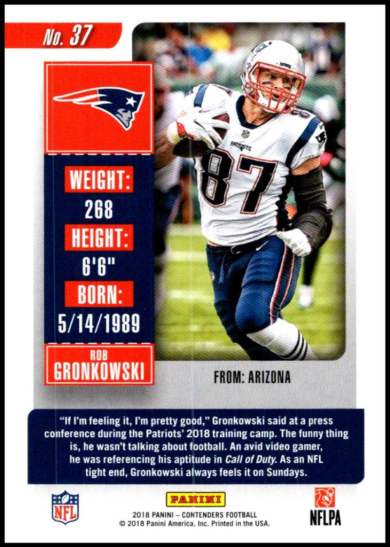 fc09fbce Details about 2018 Panini Contenders Season Ticket Football Base Singles  (Pick Your Cards)