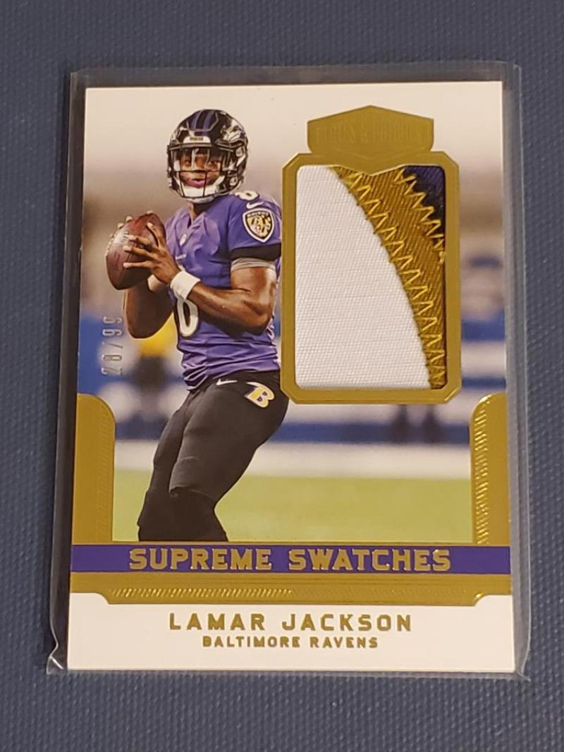 2018 Panini Plates and Patches Supreme Swatches
