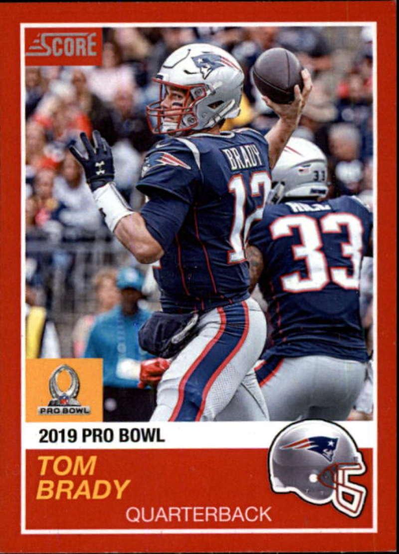 2018 Panini Instant NFL Pro Bowl 1989 Score Design