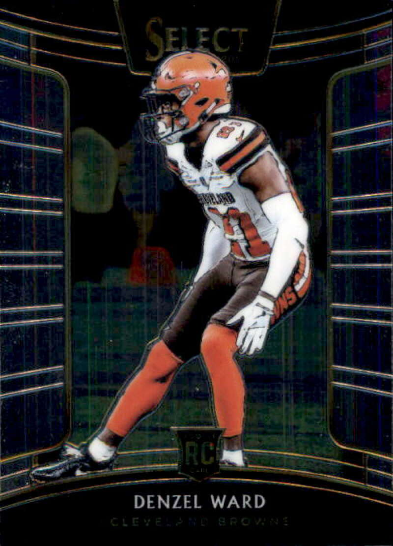 2018 Select Football #31 Denzel Ward Cleveland Browns Concourse RC Rookie Card Official NFL Trading Card From Panini