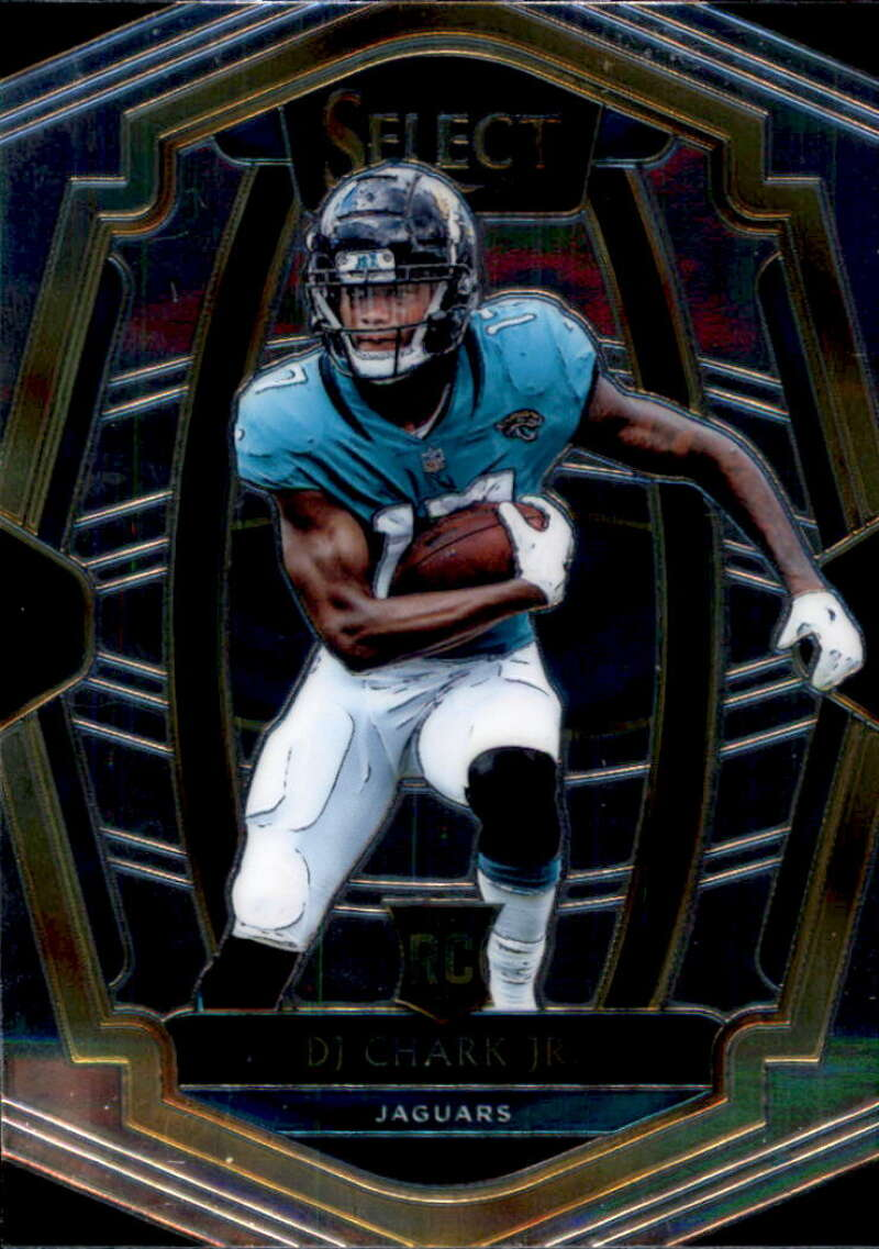2018 Select Football #181 DJ Chark Jr. Jacksonville Jaguars Premier Level RC Rookie Card Official NFL Trading Card From Panini