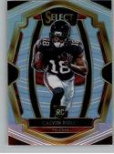 2018 Select Football #136 Calvin Ridley Atlanta Falcons Premier Level RC Rookie Card Official NFL Trading Card From Panini