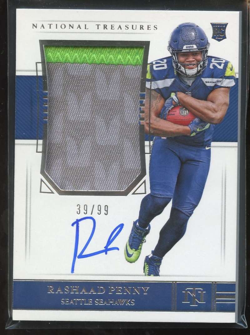 2018 Panini National Treasures Rookie Patch Autographs