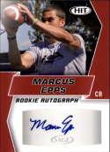 2019 SAGE Hit Premier Draft Autographs Red Football #A59 Marcus Epps Auto Autograph Official NCAA/NFL Pre Rookie/Prospec