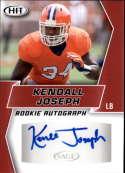 2019 SAGE Hit Premier Draft Autographs Red Football #A62 Kendall Joseph Auto Autograph Official NCAA/NFL Pre Rookie/Pros
