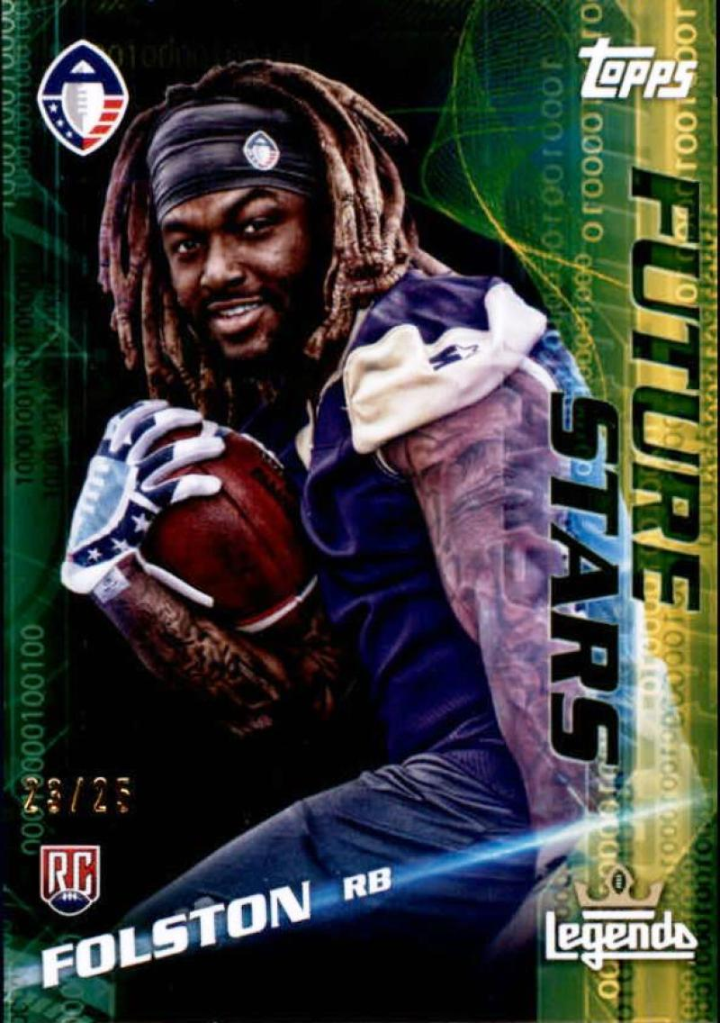 2019 Topps Alliance of American Future Stars Gold