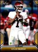 2019 Leaf Draft Gold Football #SP-KM1 Kyler Murray  Oklahoma Sooners