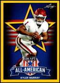 2019 Leaf Draft Gold Football #SP-KM2 Kyler Murray All-American  Oklahoma Sooners