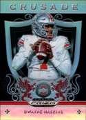 2019 Panini Prizm Draft Picks Crusade Prizms Silver #13 Dwayne Haskins NM-MT Ohio State Buckeyes