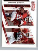 2019 Panini Contenders Draft Picks Collegiate Connections #12 Bryce Love/JJ Arcega-Whiteside Stanford Cardinal  Official Collegiate Football Card of t