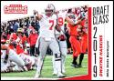 2019 Panini Contenders Draft Picks Draft Class #13 Dwayne Haskins Ohio State Buckeyes  Official Collegiate RC Rookie Football Card of the NFL Draft