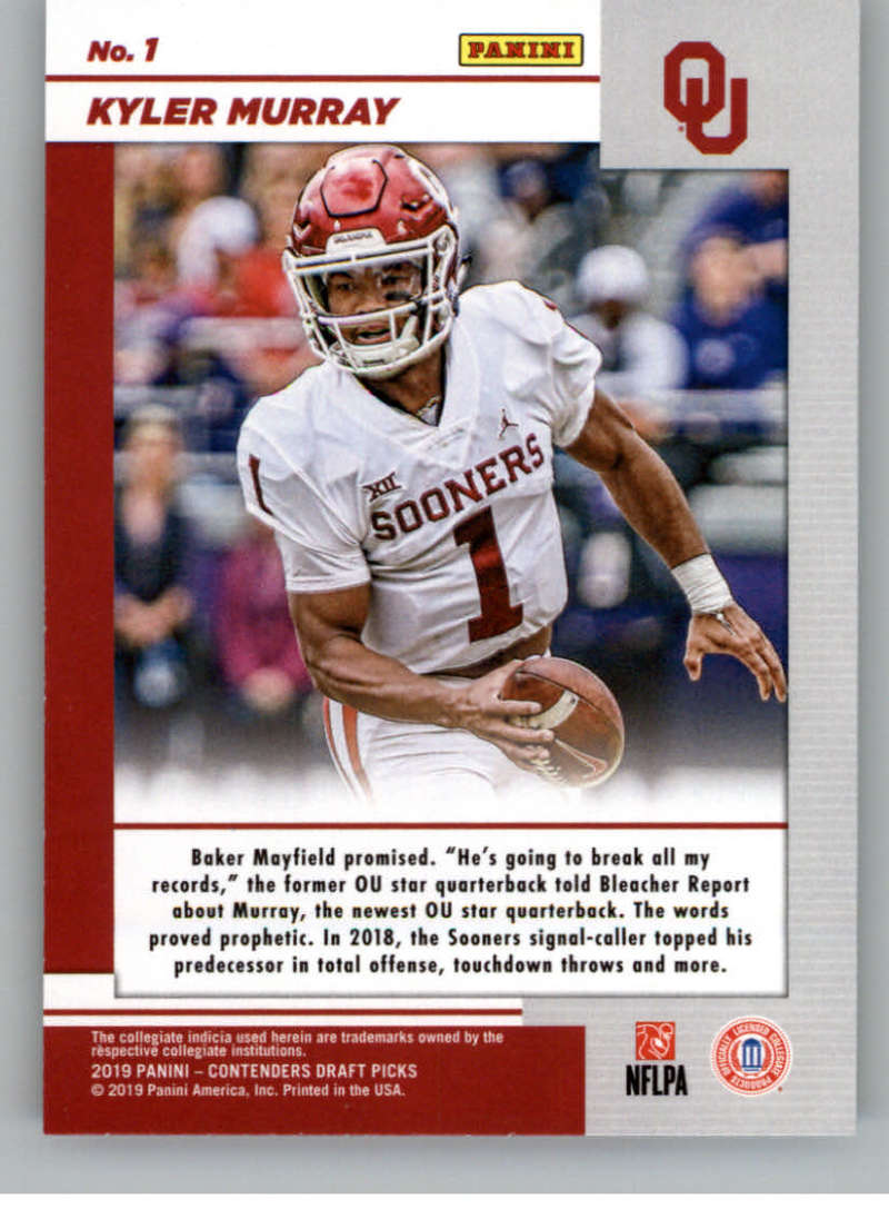 2019-Panini-Contenders-Draft-Game-Day-Ticket-Rookie-Football-Card-Pick-RC thumbnail 3