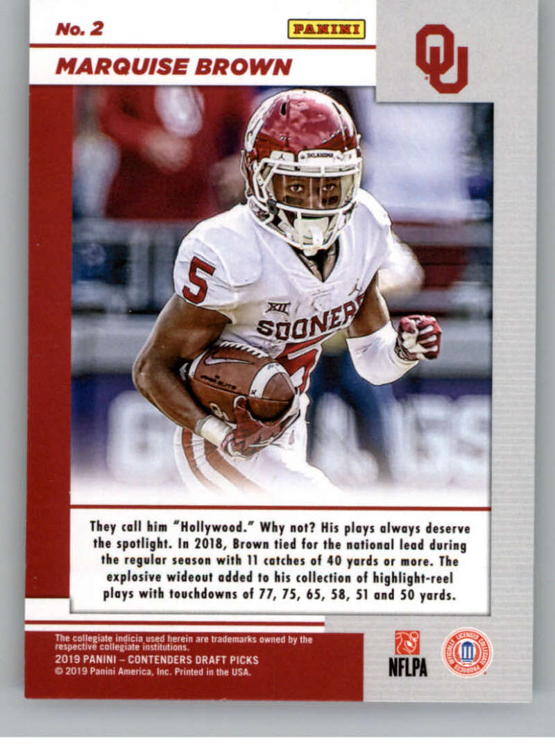 2019-Panini-Contenders-Draft-Game-Day-Ticket-Rookie-Football-Card-Pick-RC thumbnail 5